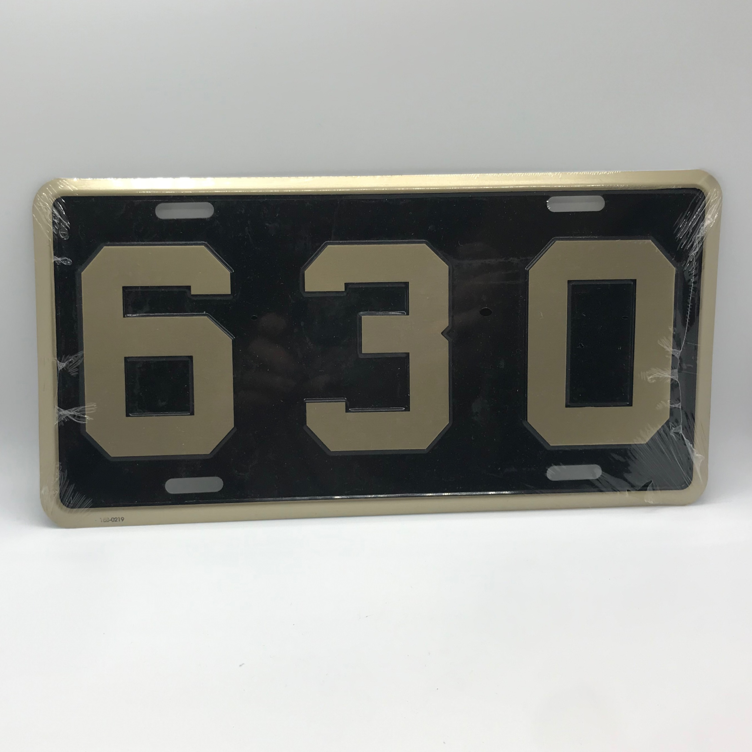 License Plate 630 | Metal License Plate - 630